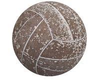 футбол шарика старый Стоковая Фотография