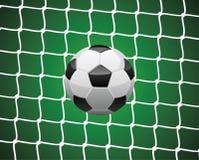 футбол шарика Стоковая Фотография