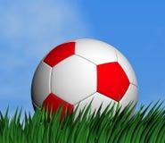 футбол шарика 3d Стоковые Фотографии RF