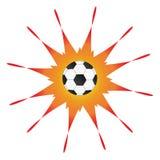 футбол шарика иллюстрация штока