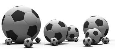 футбол шариков Стоковое Изображение RF