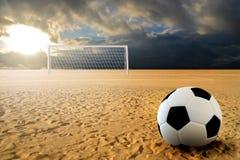 футбол штрафа пинком Стоковая Фотография