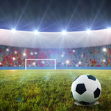 футбол штрафа пинком Стоковые Фото