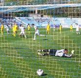 футбол штрафа Стоковая Фотография RF