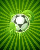 футбол 05 шариков Стоковая Фотография