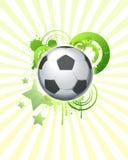 футбол 07 шариков Стоковое Изображение