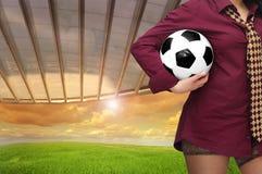 футбол стоковое изображение rf