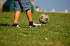 футбол 2 парков Стоковое Фото