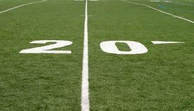 футбол 20 поля Стоковое Изображение