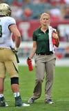 Футбол 2012 NCAA - висок USF @ Стоковое Изображение