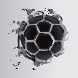 футбол 4 шариков Стоковые Изображения