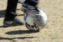 футбол 6 действий Стоковая Фотография RF