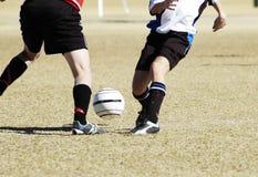 футбол 9 действий Стоковое Фото