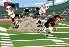 футбол clash Стоковое Изображение