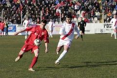 футбол derby 2 городов Стоковые Изображения RF