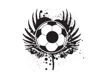 футбол grunge футбола Стоковые Фотографии RF