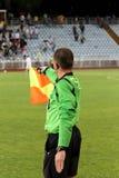 футбол linesman Стоковые Изображения RF