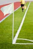 футбол linesman Стоковое фото RF