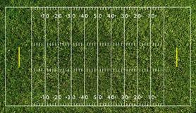 футбол nfl поля Стоковые Фотографии RF