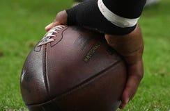 Футбол NFL стоковое изображение