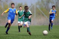 футбол u13 игры Стоковые Изображения