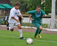 футбол u19 nyirsuli игры kaposvar стоковые изображения rf