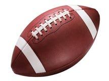 Футбол американской средней школы коллежа младший на белизне Стоковая Фотография RF