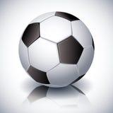 футбол горящего стекла шарика aqua бесплатная иллюстрация