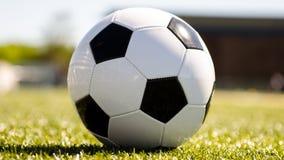 футбол горящего стекла шарика aqua Стоковая Фотография RF