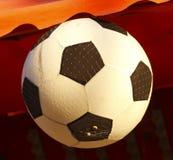 футбол горящего стекла шарика aqua Стоковое Изображение RF