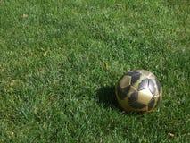 футбол горящего стекла шарика aqua стоковые изображения rf