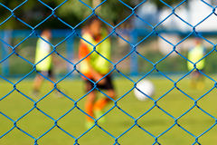 Футбол девушек Стоковое фото RF