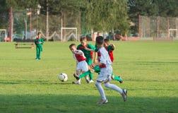 Футбол детей Стоковые Фото