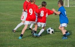 Футбол детей Стоковые Фотографии RF