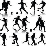 Футбол женщины Иллюстрация вектора