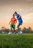Футбол женщин Стоковое Изображение RF