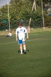 Футбол игры девушек Стоковая Фотография