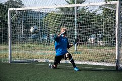 Футбол игры девушек Стоковые Изображения