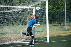 Футбол игры девушек Стоковая Фотография RF