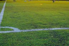 Футбол игры детей Стоковые Изображения RF