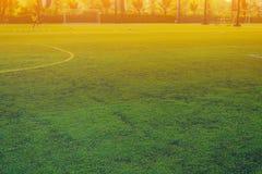 Футбол игры детей Стоковые Изображения