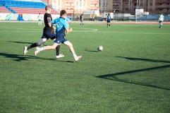 футбол игры стоковое фото
