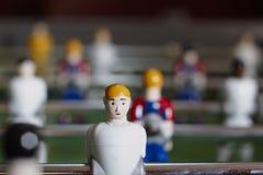 Футболисты таблицы стоковая фотография