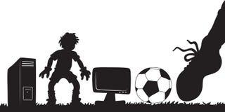 Футболисты Стоковые Изображения