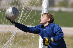 Футболист молодости Стоковое Изображение RF