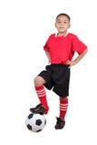 Футболист ребенка Стоковые Изображения