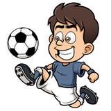 Футболист иллюстрация вектора