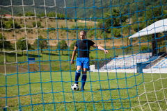 Футболист Стоковое Изображение