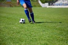 Футболист Стоковые Изображения RF