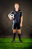 Футболист стоковая фотография rf